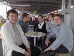 terrestris Crew am Flughafen Köln/Bonn