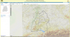 Land use planning portal Baden-Wuerttemberg