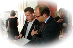 terrestris Mitarbeiter Christian Mayer präsentiert die Ergebnisse