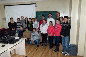 Gruppenfoto mit Kursteilnehmern