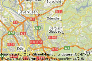 OSM data in our OSM-WMS