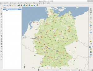 Screenshot QGIS