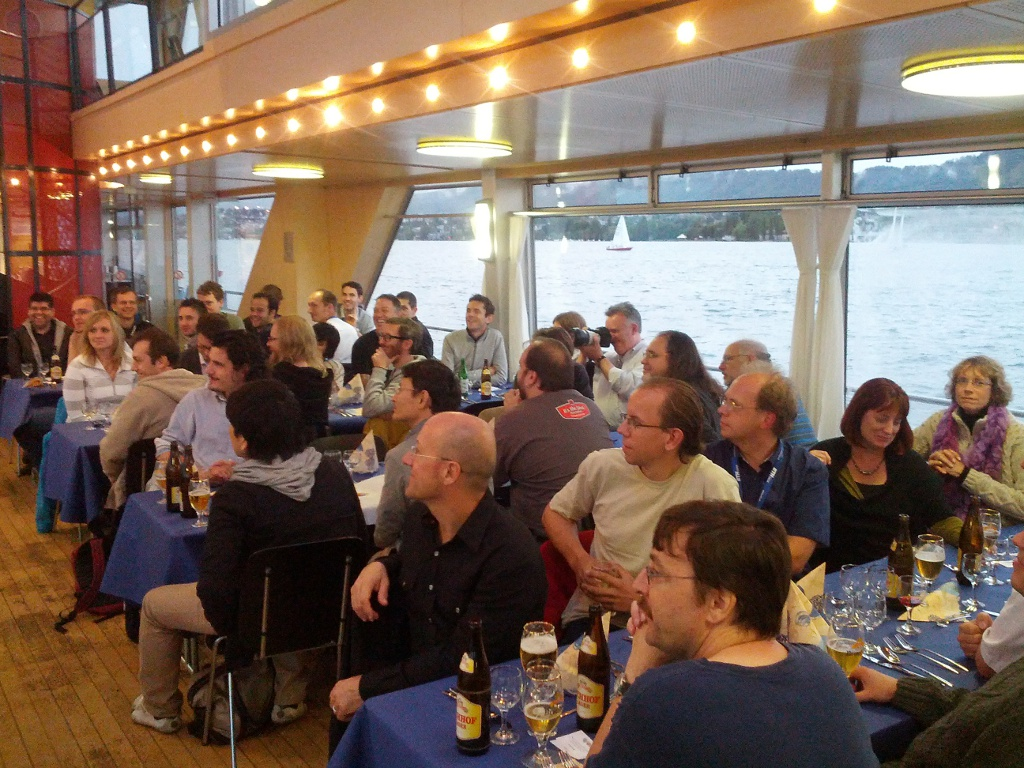 Social Event on Lake Zurich