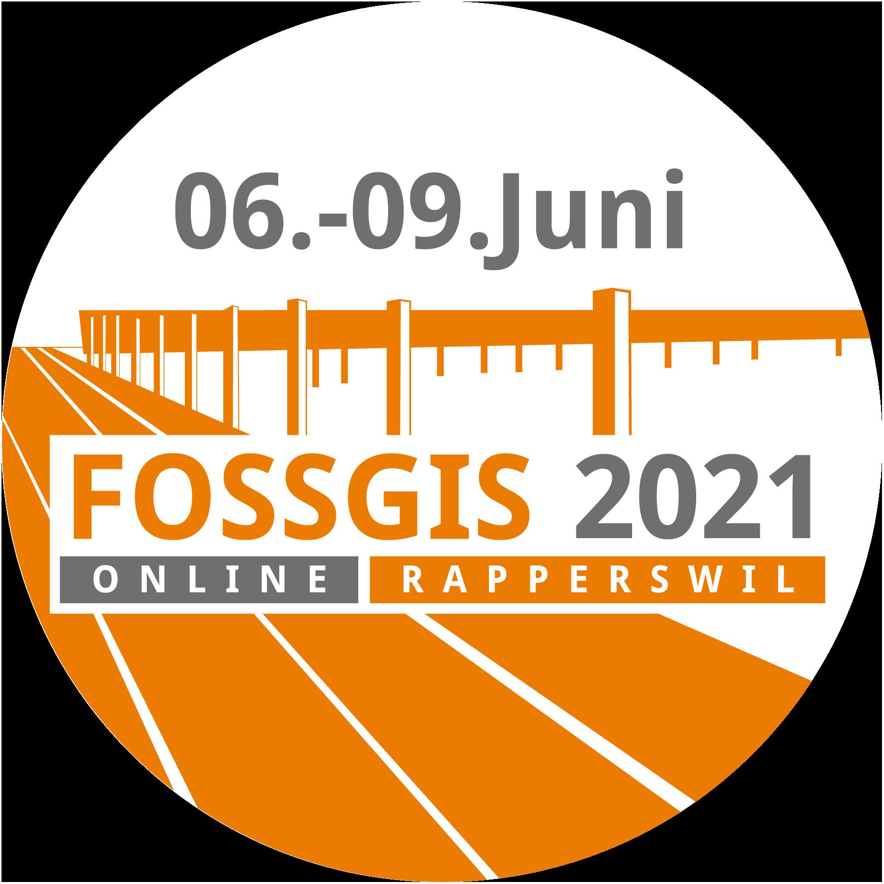 Das Logo der FOSSGIS Konferenz 2021