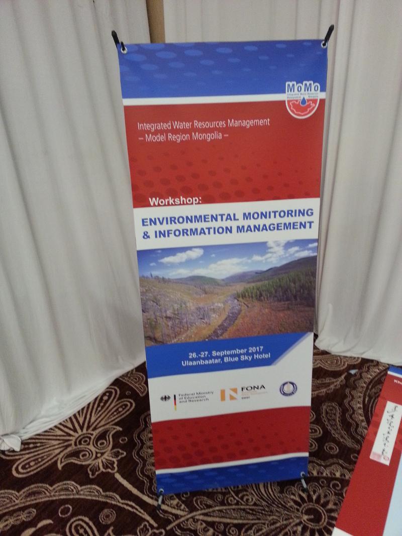 Der Workshop zum Umweltmonitoring und Informationsmanagement