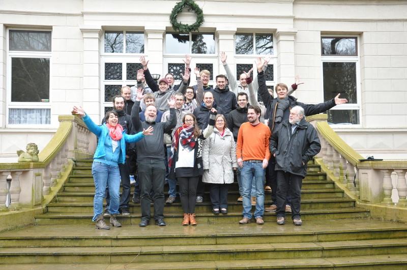 Teilnehmer der Hacking Events