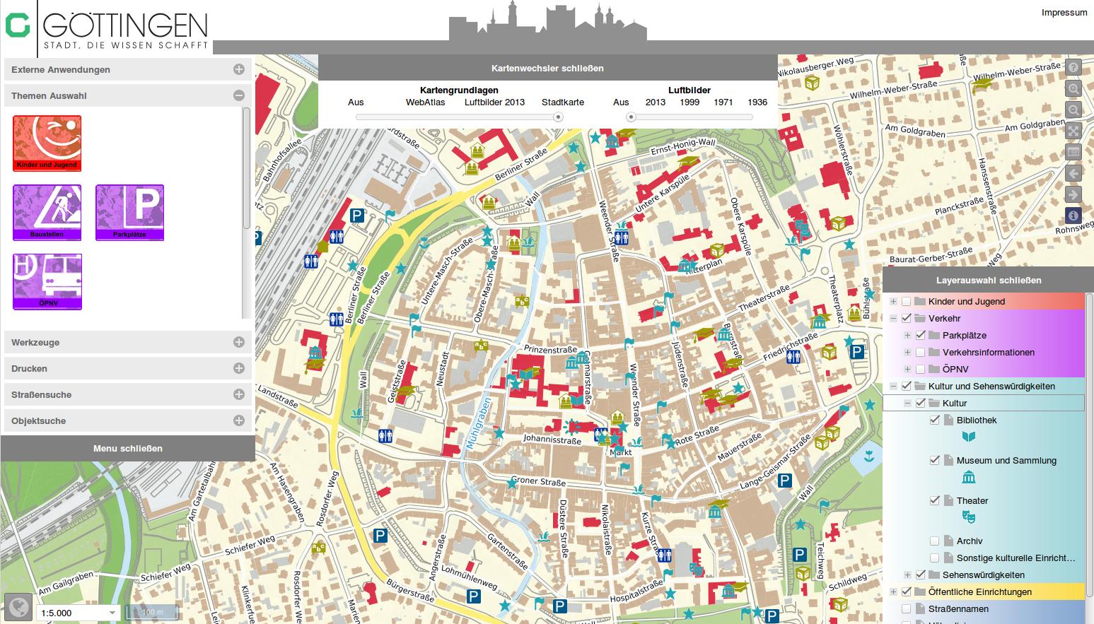 Projekte: Stadt Göttingen